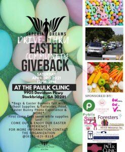 Drive-Thru Easter Giveback